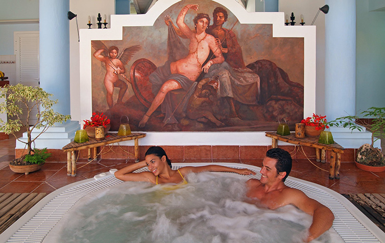 Spa hotels in Cuba - Spa Services: Hydrotherapy Circuit