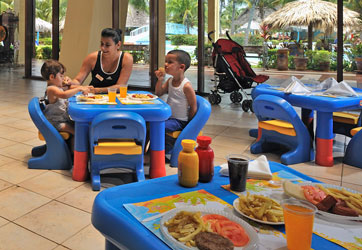 Family hotels in Cuba - dining - Family holidays in Cuba