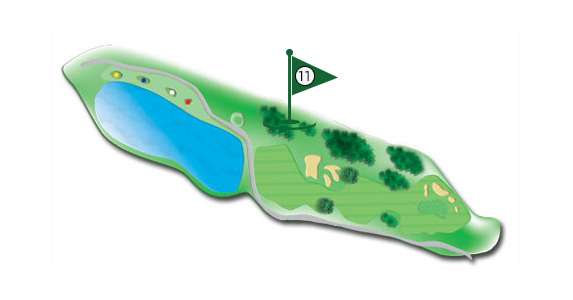 Details of the hole 11