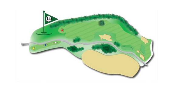 Details of the hole 14