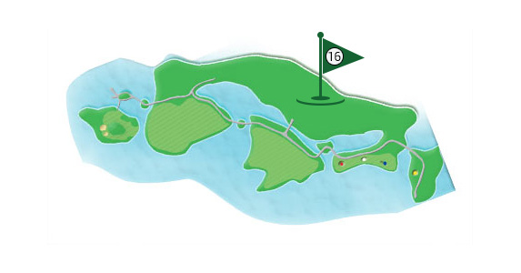 Details of the hole 16