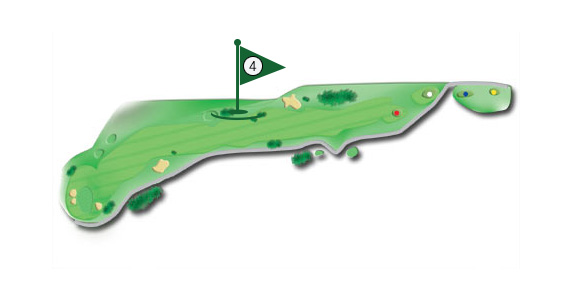Details of the hole 4