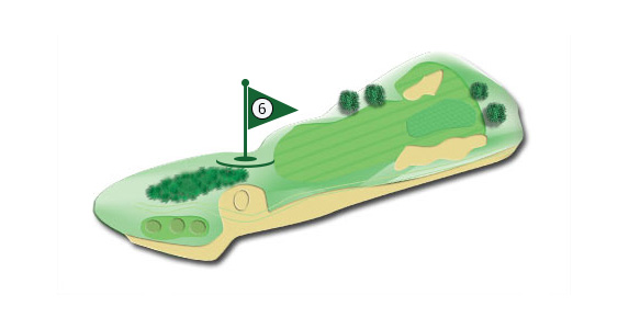 Details of the hole 6