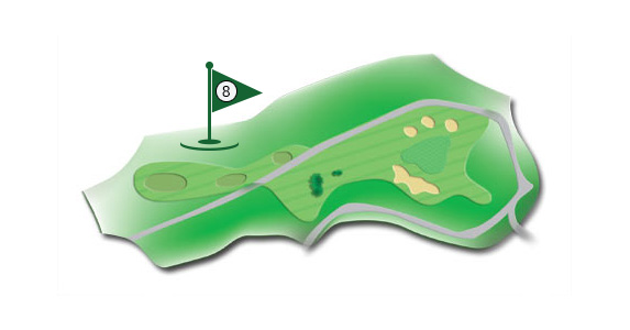 Details of the hole 8